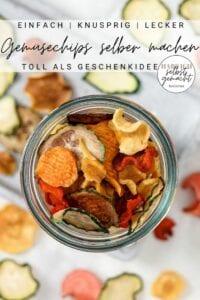 Gemüsechips Pinterest Flyer