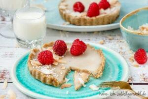 Kokos-Tortelette ohne Zucker