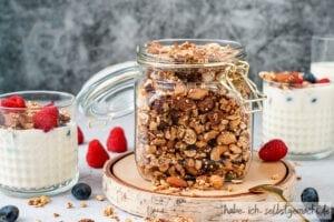 Gesundes Granola ohne Zucker selber machen