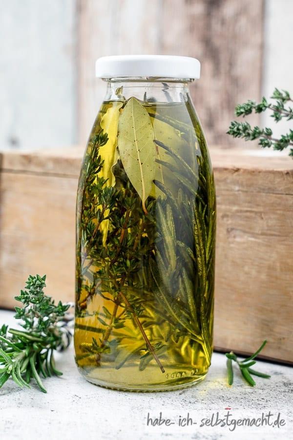 Italienische Kräuter Öl