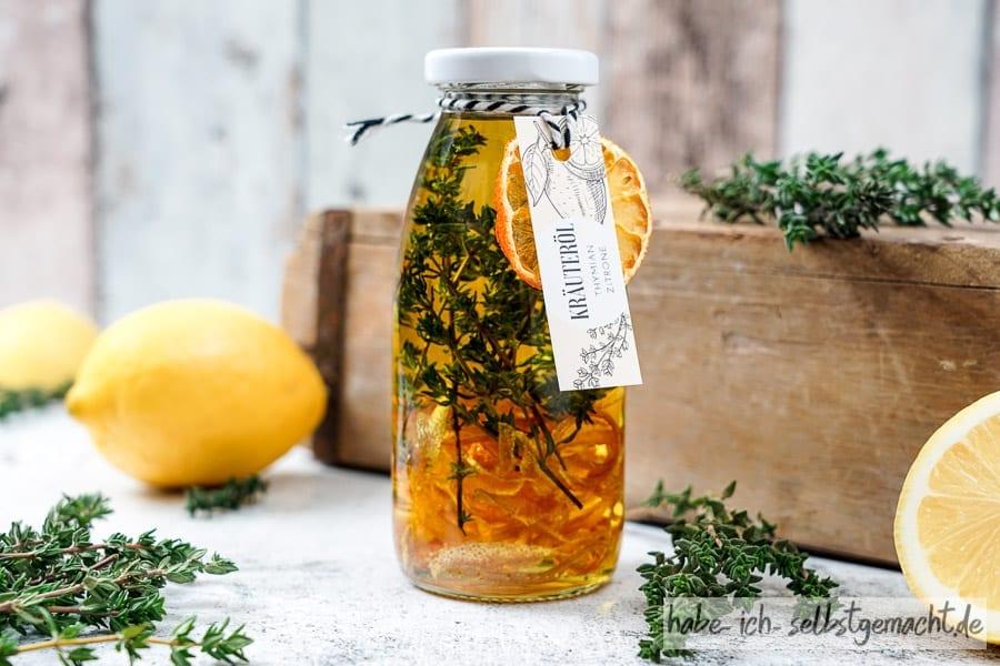 Zitrone Thymian Öl