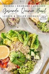 Gesunde Bowl (vegan)