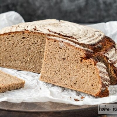 Brot #87 – Roggenbrot mit Leinsamen