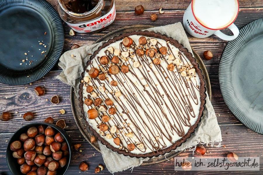 Schokotarte mit Nutella (Nutellakuchen)