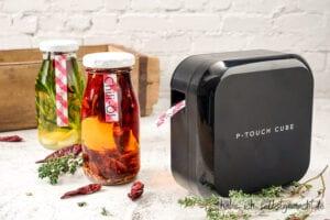 Brother P-touch CUBE Plus - Kräuter Öl Etiketten