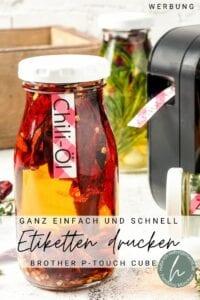 Brother P-touch Etikettendrucker Pinterest Flyer