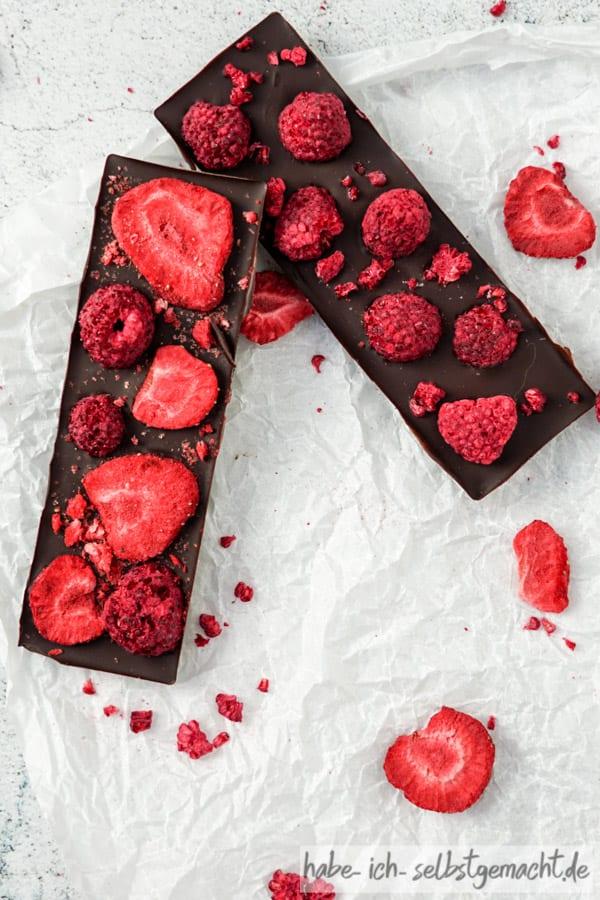 Datten Schokolade ohne Zucker