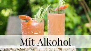 Kategorie Getränke mit Alkohol