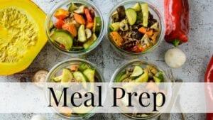 Kategorie Meal Prep