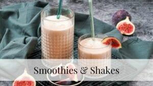 Kategorie Smoothies und Shakes