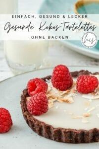 Gesunde Tortelettes mit Kokos