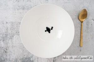 Lavendel Badesalz - Lila Lebensmittelfarbe