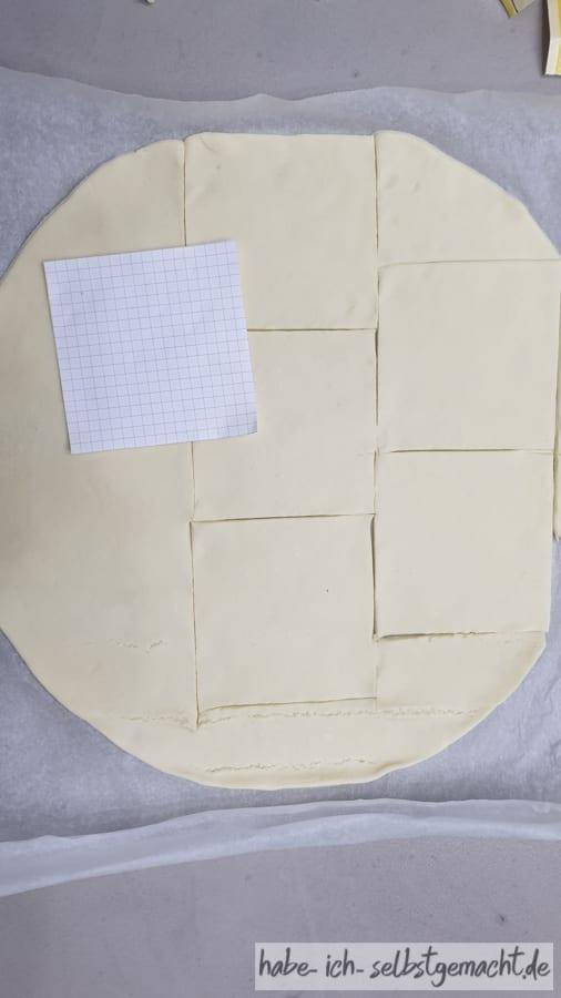 Quadrate schneiden