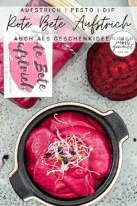 Rote Bete Aufstrich Pinterest Flyer