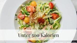 Unter 500 Kalorien