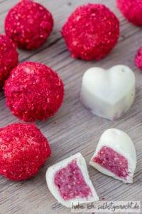 Weiße Schokoladen Pralinen selber machen