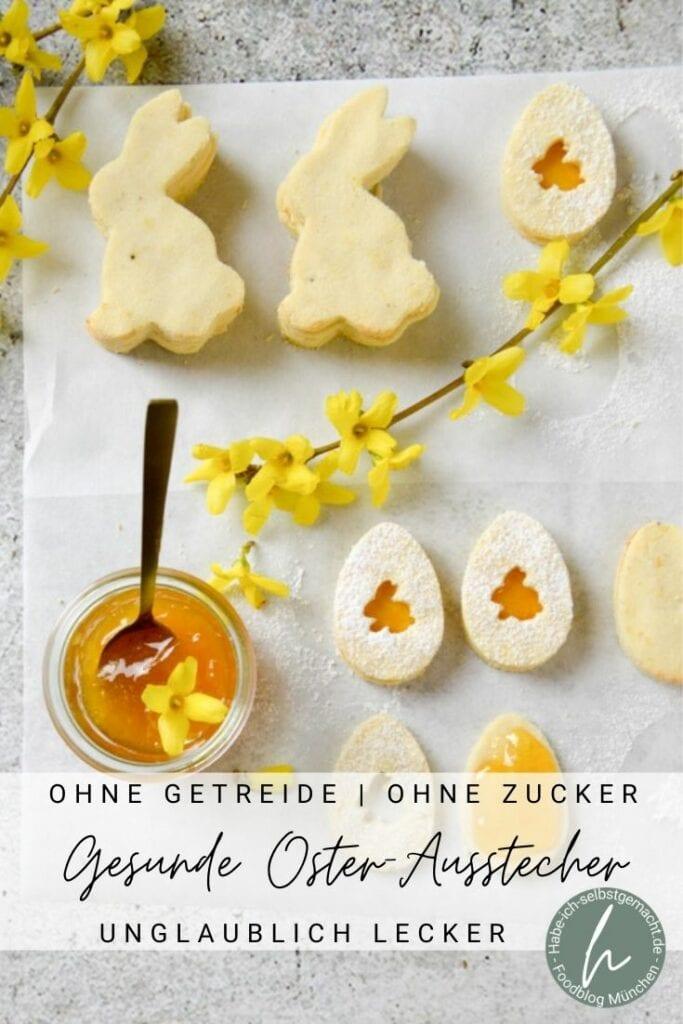 Gesunde Oster-Ausstech-Kekse