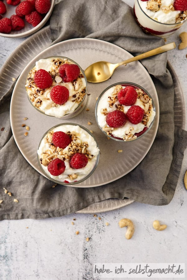 Griechisches Joghurt Dessert