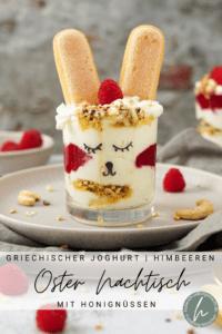 Oster Nachtisch mit griechischem Joghurt