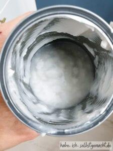Kokosmilch ohne Kokoscreme