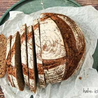 Brot #95 – Rotkornweizen Vollkornbrot