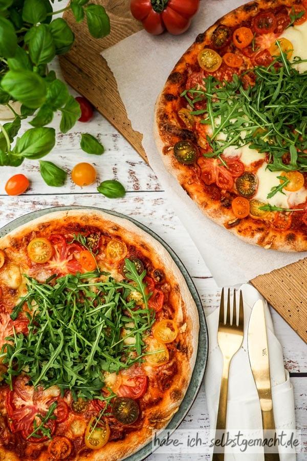 Sauerteig Pizza