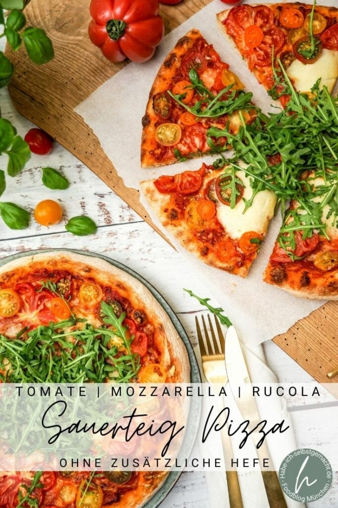 Sauerteig Pizza Pinterest Flyer