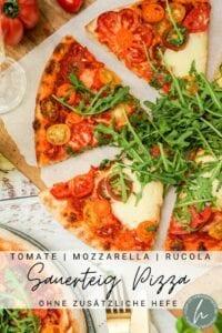 Sauerteig Pizza Pinterest Flyer