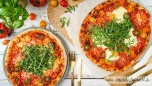 Sauerteig Pizza Titelbild