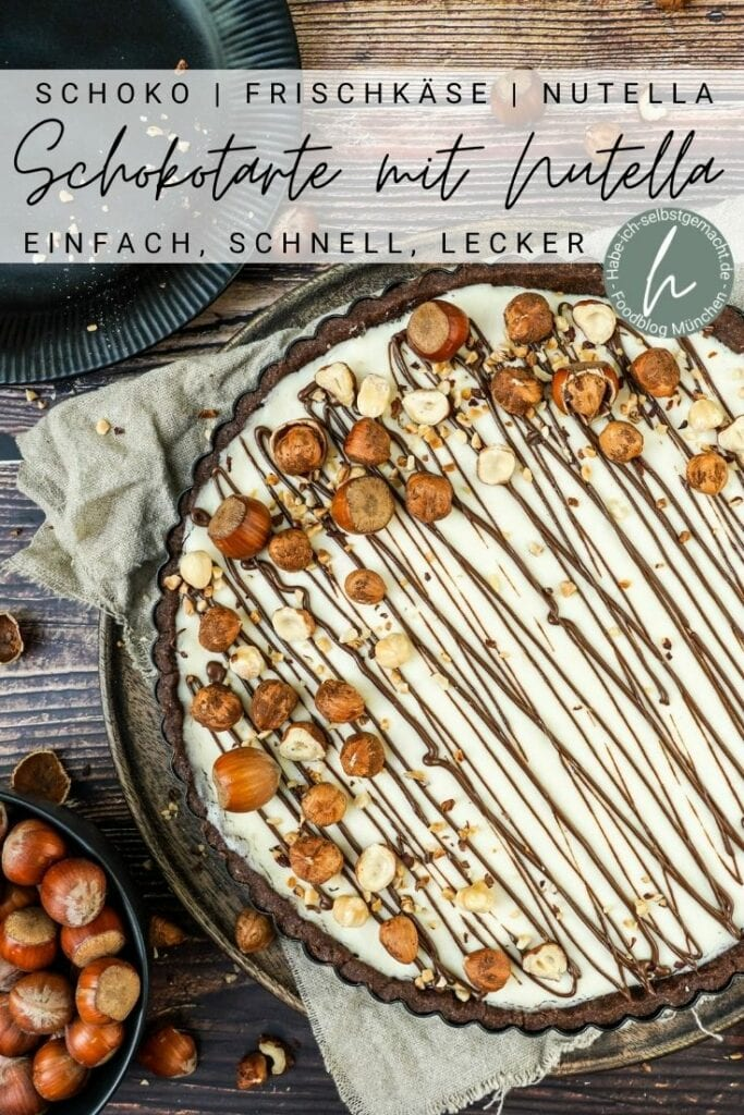Schokotarte Nutellakuchen Pinterest Flyer
