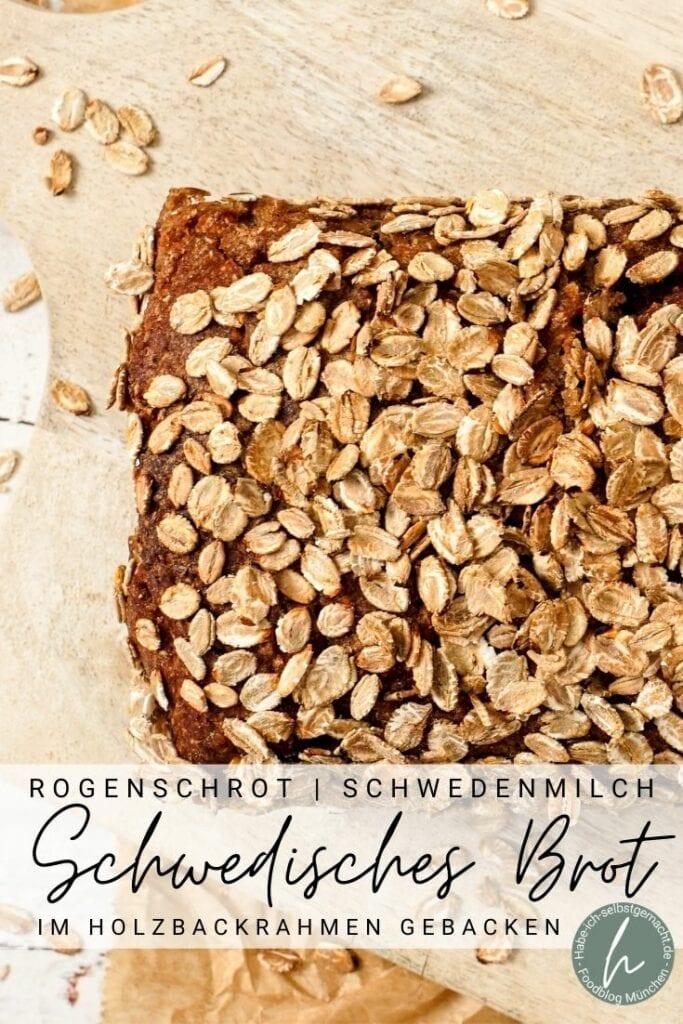Schwedisches Brot (Schonenbrot) Pinterest Flyer