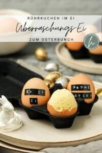 Überraschungs-Ei Nachtisch