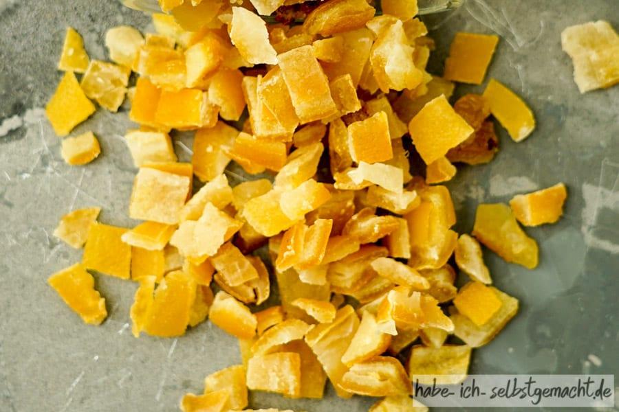 Zitronat aus normalen Zitronen