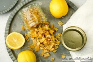 Zitronat selber machen