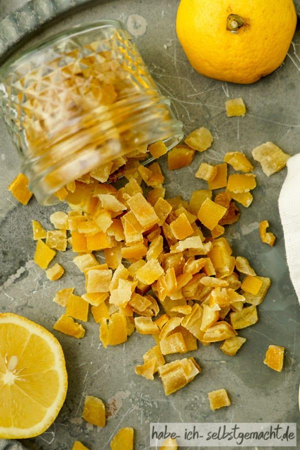 Zitronat herstellen