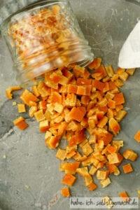 Orangeat herstellen