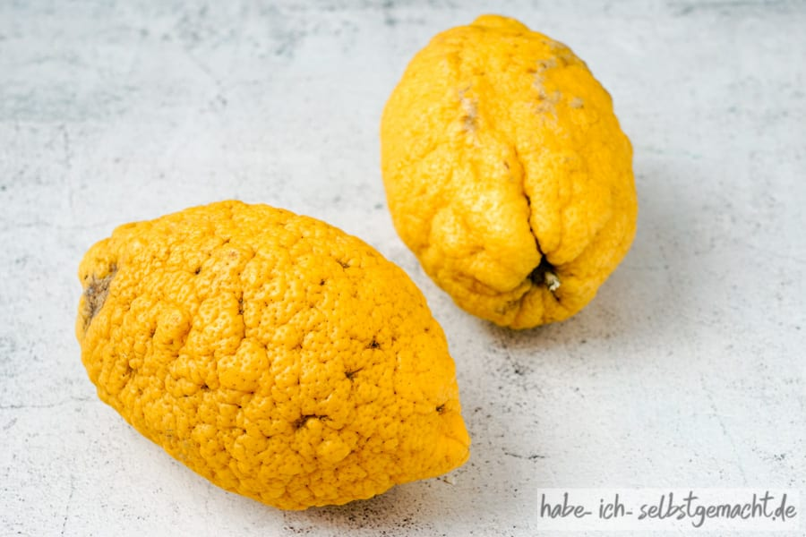 Zitronat Zitronen