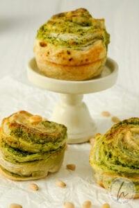 Bärlauch Muffins aus Blätterteig