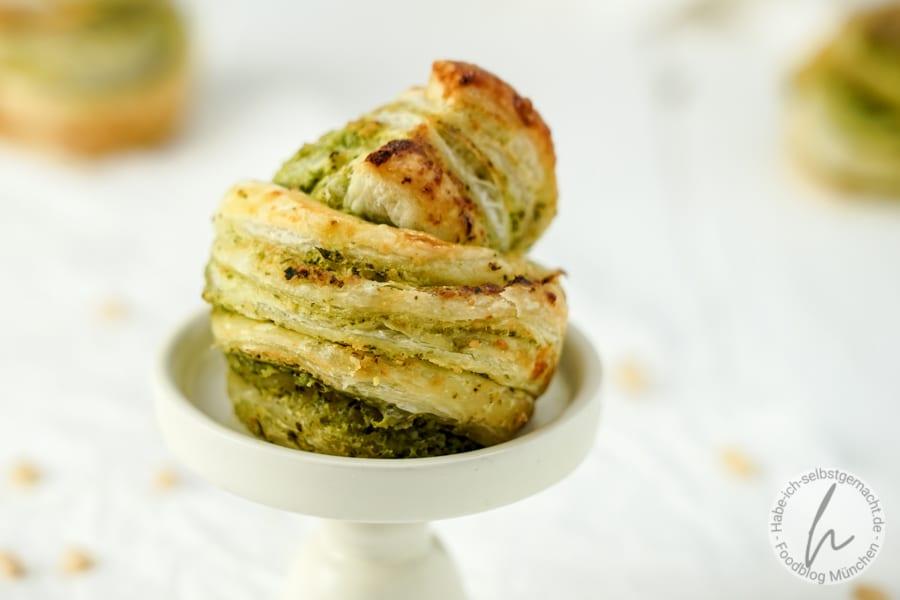 Bärlauch Muffins Cruffins