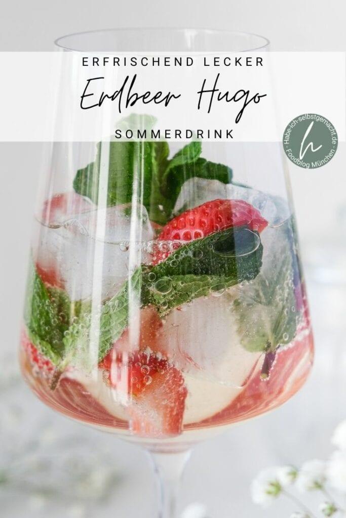 Erfrischender Erdbeer Hugo
