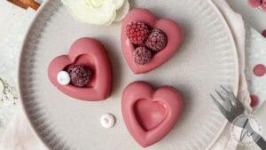 Schoko Herzen Muttertag