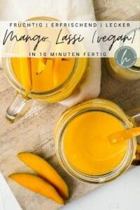 Mango Lassi Pinterest Flyer