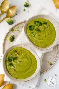 Suppe 3: Brokkoli-Kartoffel-Suppe