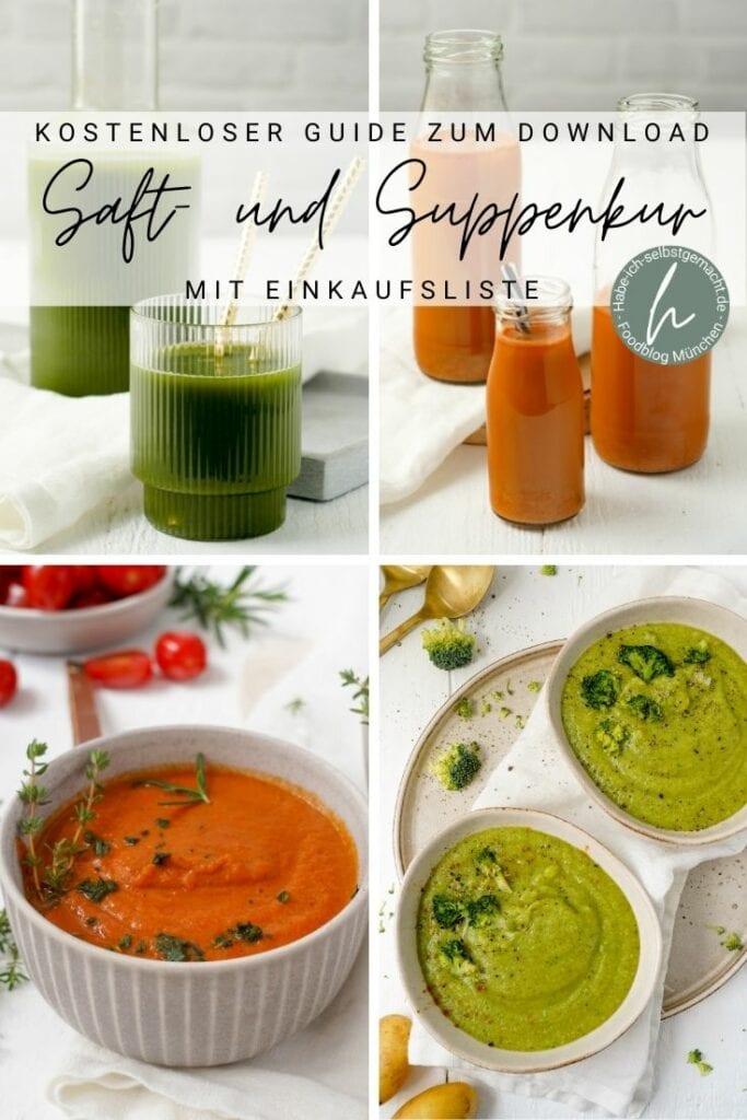 Suppen- und Saftkur