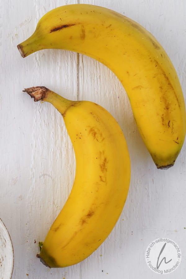 Sehr reife Bananen