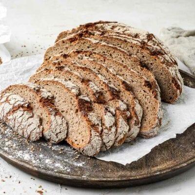 Brot #104 – Roggenmischbrot
