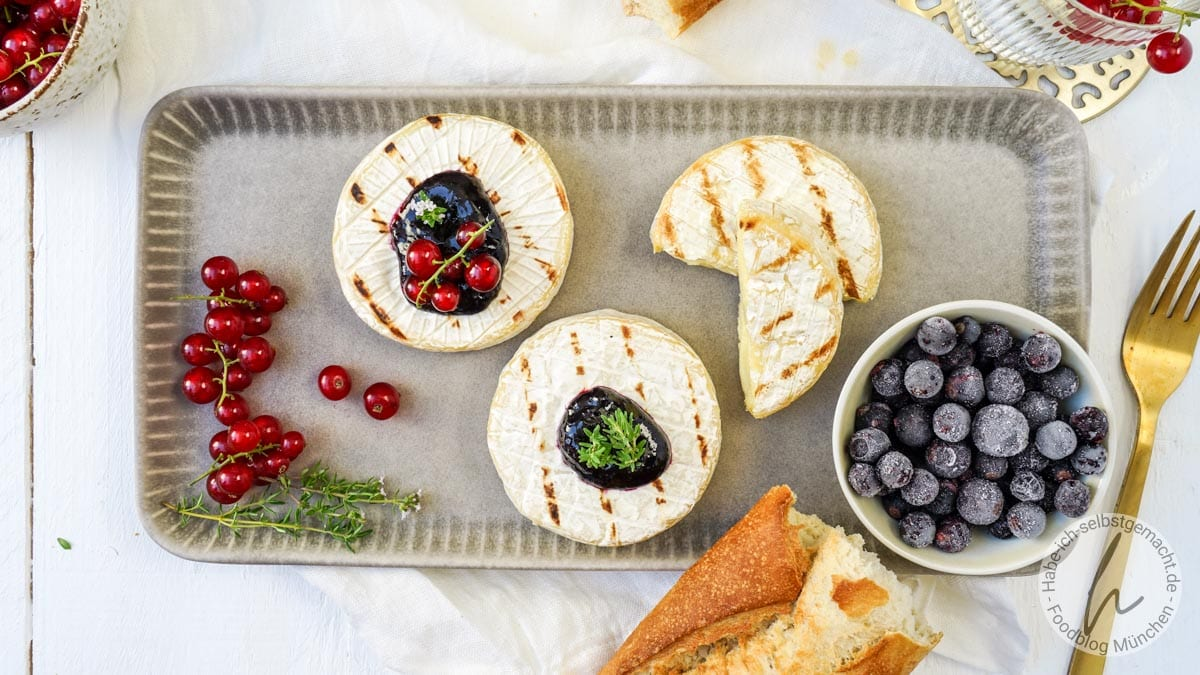 Camembert vom Grill