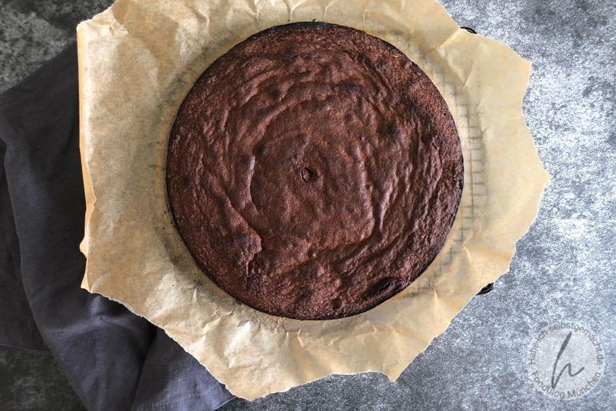 Saftige Tarte au chocolat