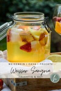 Weisser Sangria