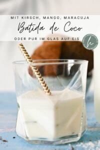 Batida de coco Cocktail (Kokoslikör)